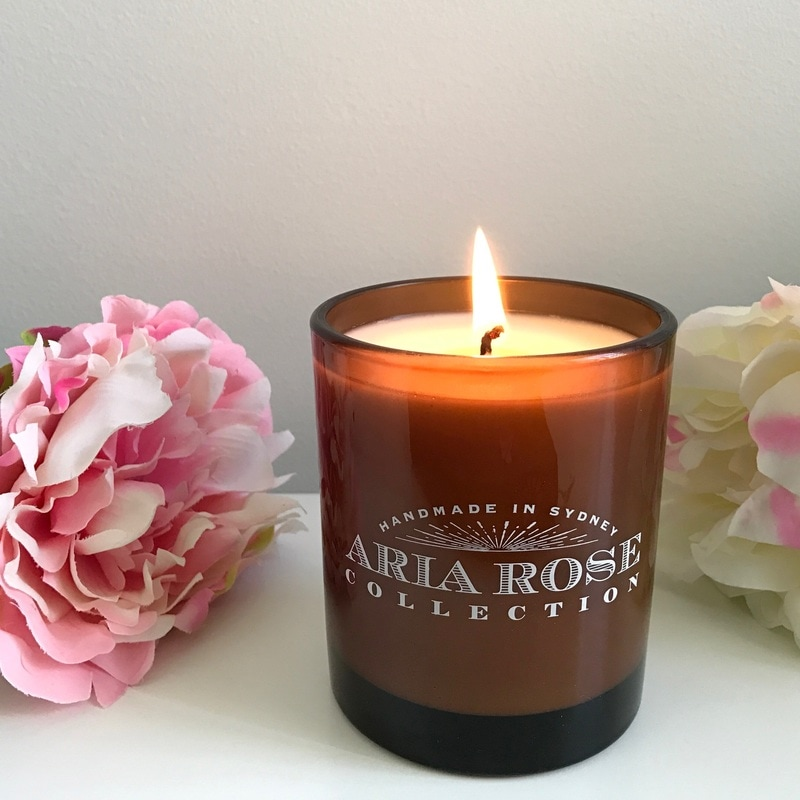 Luxury candles handmade in Sydney