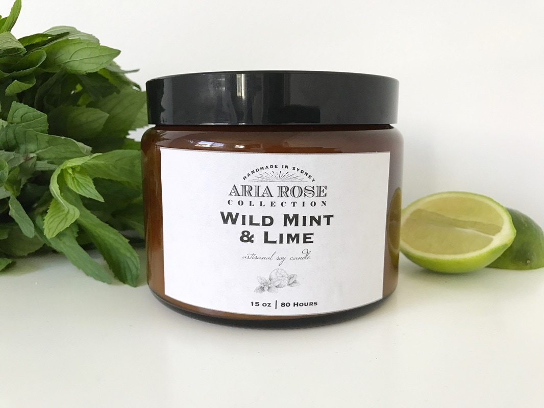 Scented soy candles made in Sydney